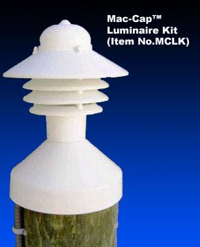 Mac Cap Lighted Piling Cap Cover